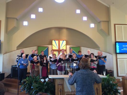 Oct 2014 Choir