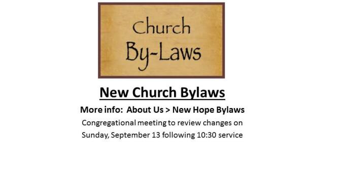 Rotator Church Bylaws