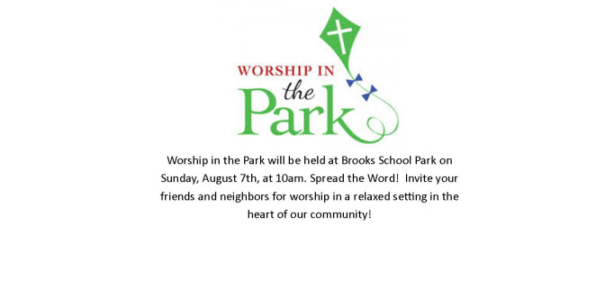 worship in the park 2016 rotator