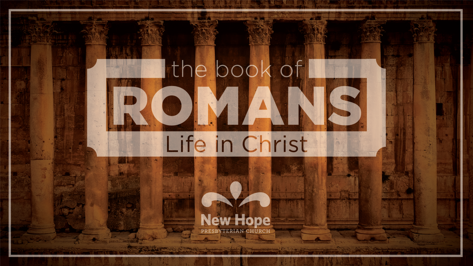 Romans: Life in Christ